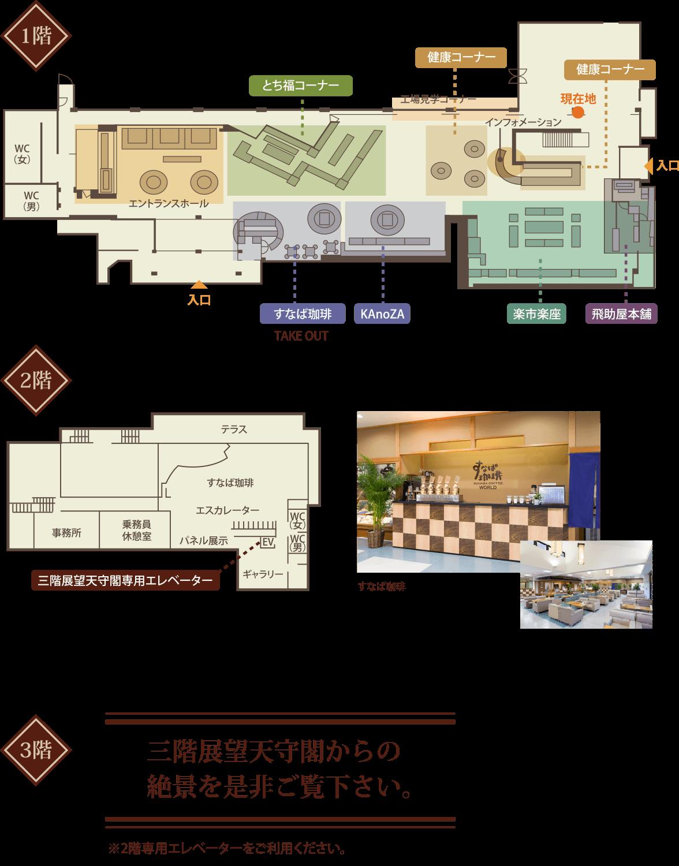 城内マップ